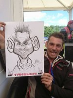 CARICATURE ARTISTS CONGLETON STAFFORDSHIRE